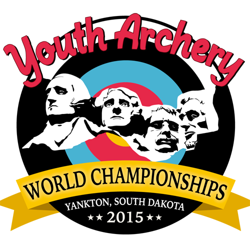 Yankton 2015 World Archery Youth Championships logo