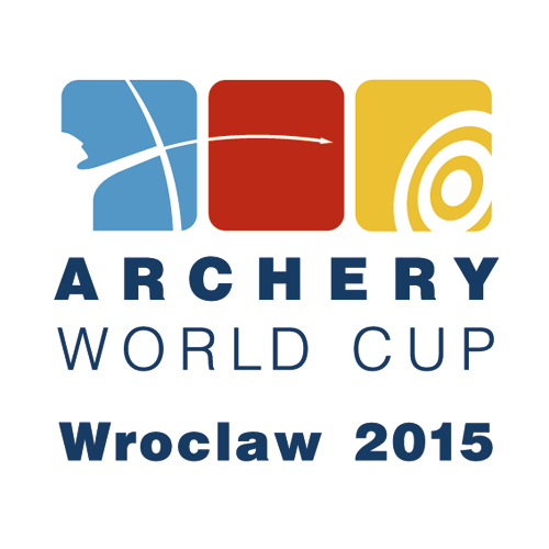 Wroclaw 2015 Archery World Cup Stage 3 logo