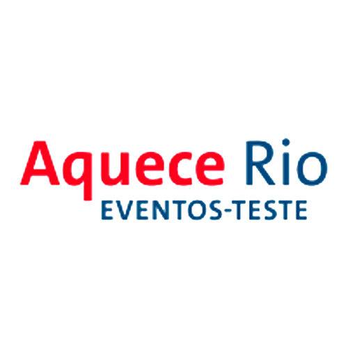 Aquece Rio Olympic Test Event logo