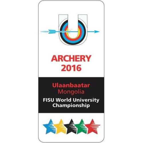 Ulaanbaatar 2016 FISU World Archery University Championships logo