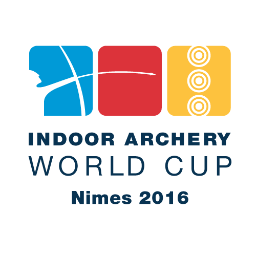 Nimes 2016 Indoor Archery World Cup Stage 3 logo