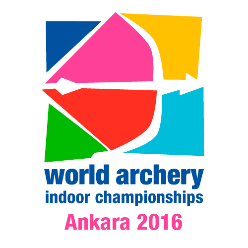 Ankara 2016 World Archery Indoor Championships logo
