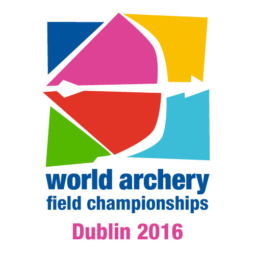 Dublin 2016 World Archery Field Championships logo
