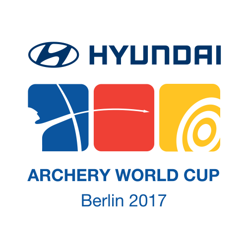Berlin 2017 Hyundai Archery World Cup logo