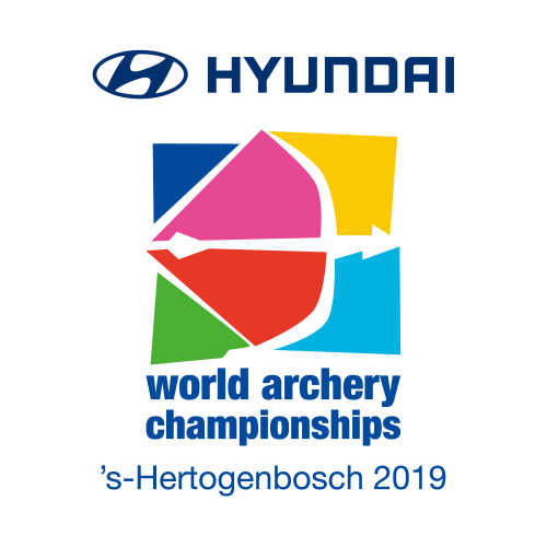 's-Hertogenbosch 2019 Hyundai World Archery Championships + OG QT World Ranking Event logo