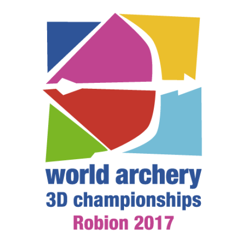Robion 2017 World Archery 3D Championships logo