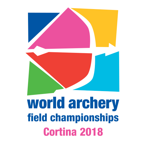 Cortina 2018 World Archery Field Championships logo