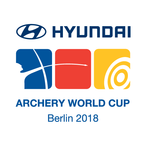 Berlin 2018 Hyundai Archery World Cup logo