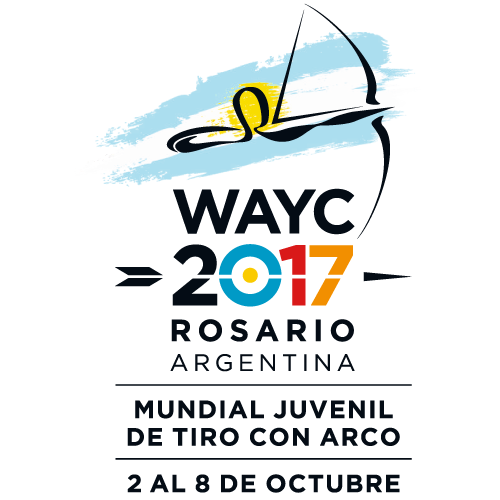 Rosario 2017 World Archery Youth Championships logo