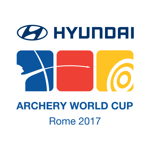 Rome 2017 Hyundai Archery World Cup Final logo