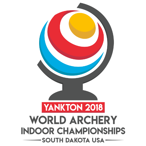 Yankton 2018 World Archery Indoor Championships logo