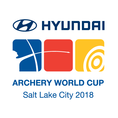 Salt Lake City 2018 Hyundai Archery World Cup logo