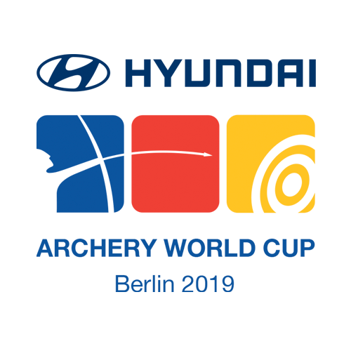 Berlin 2019 Hyundai Archery World Cup stage 4 logo