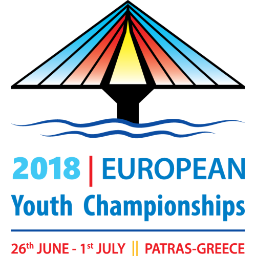 Patras 2018 European Youth Championships logo