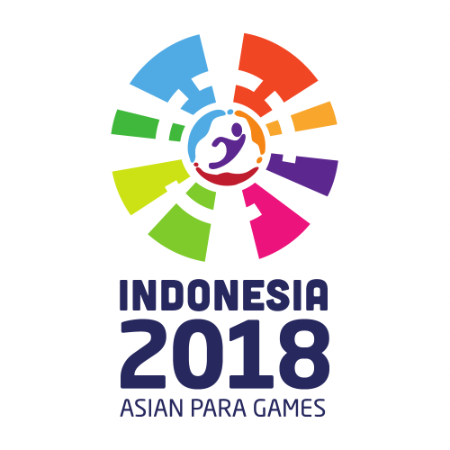 Indonesia 2018 Asian Para Games logo