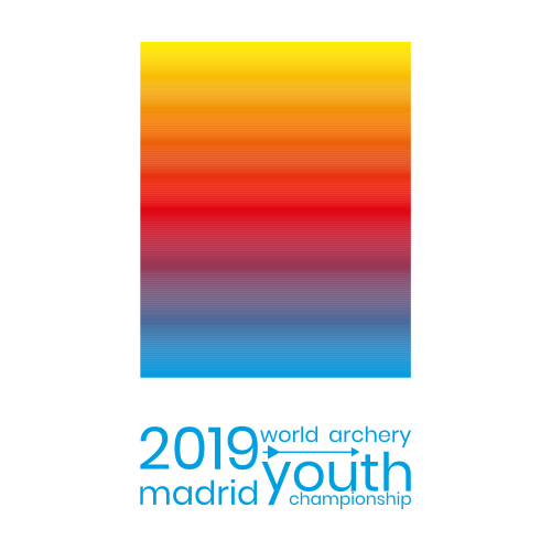 Madrid 2019 World Archery Youth Championships logo