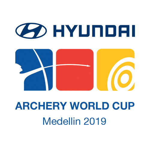 Medellin 2019 Hyundai Archery World Cup stage 1 logo