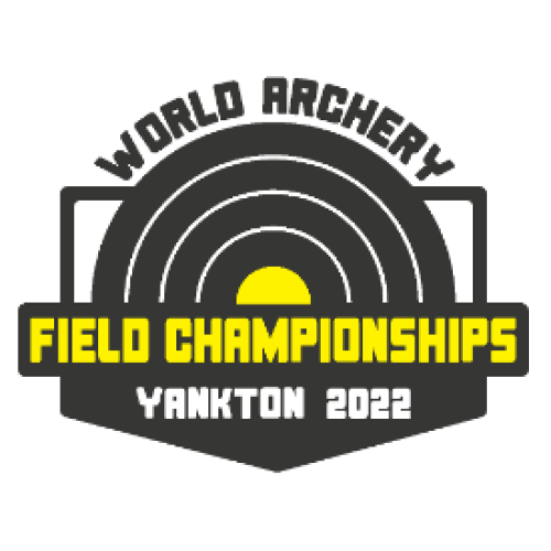 Yankton 2020 World Archery Field Championships logo