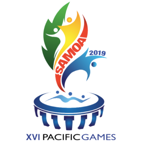 Apia 2019 Pacific Games logo
