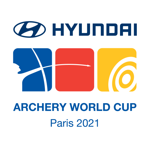 Paris 2021 Hyundai Archery World Cup stage 3 logo