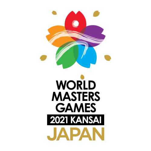 Kansai 2021 World Master Games (Indoor) logo
