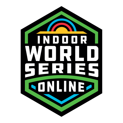 February | Indoor Archery World Series Online logo