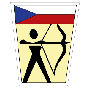 Czech Archery Association logo