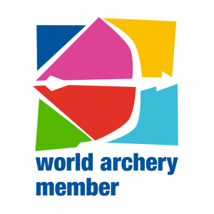 The National Archery Federation of Georgia logo